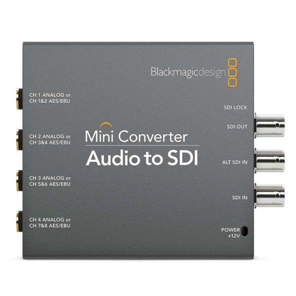 Audio to SDI Mini Converter
