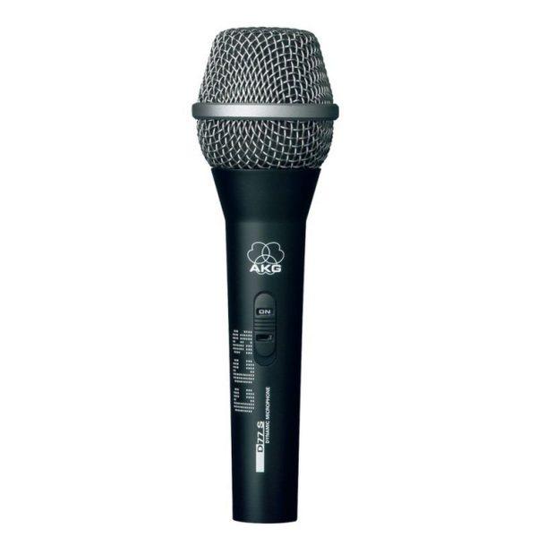 AKG D77S Dinamik Vokal ve Enstrüman Mikrofonu