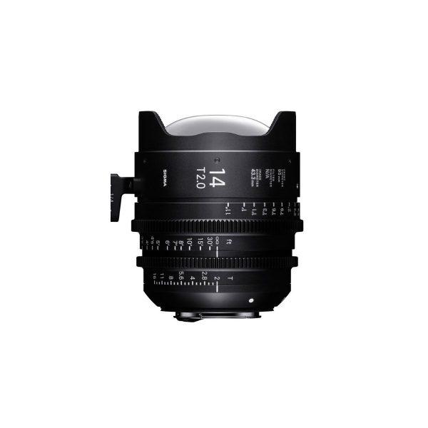 Sigma 14mm T2 Cine Lens