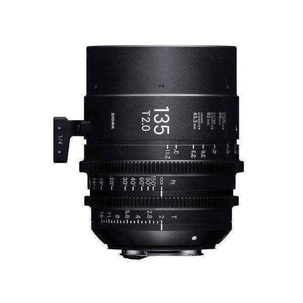 Sigma 135mm T1.5 FF Cine Lens