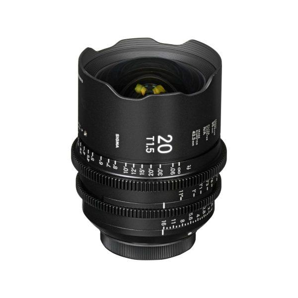 Sigma 20mm T1.5 Cine Lens