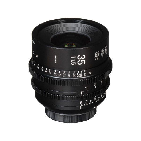 Sigma 35mm T1.5 Cine Lens